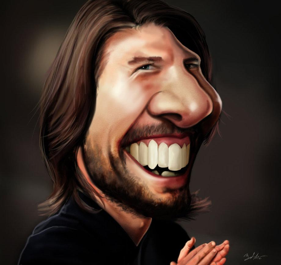 tom cruise caricature by mightygodofthunder -  10