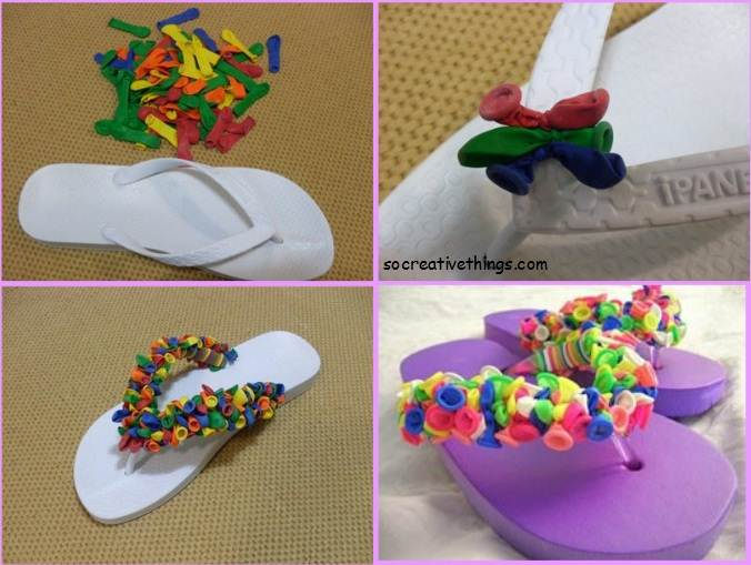 slipper crafts diy