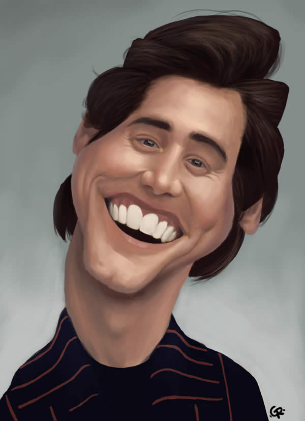 jim carrey caricature -  3