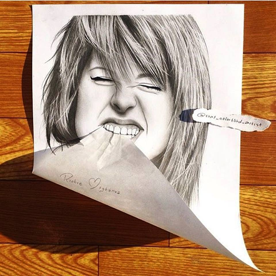 3d drawings by richie magbanua