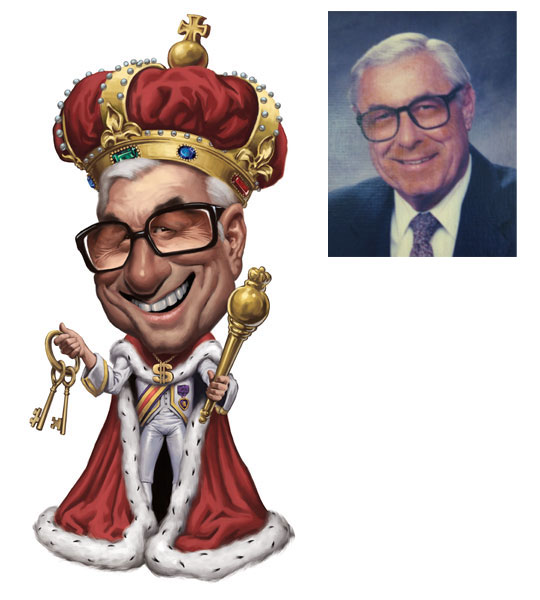 king stahlman caricature -  4