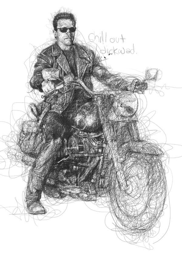 bike scribbles