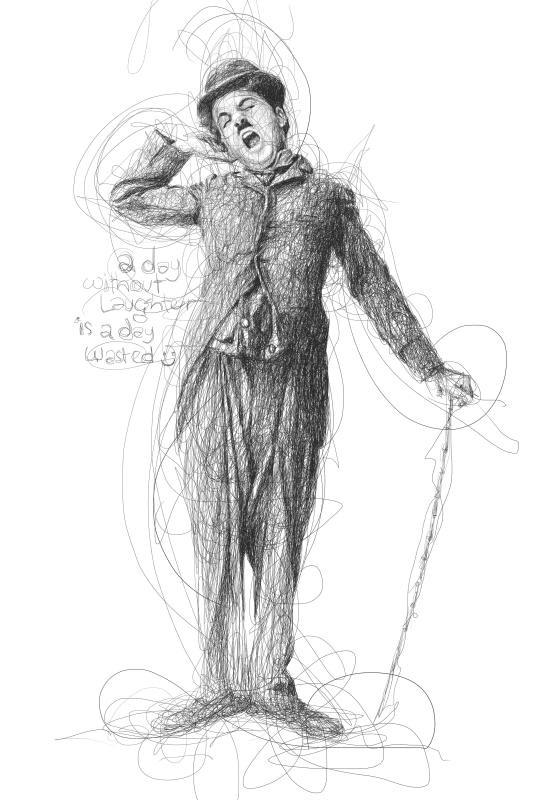 chaplin scribbles