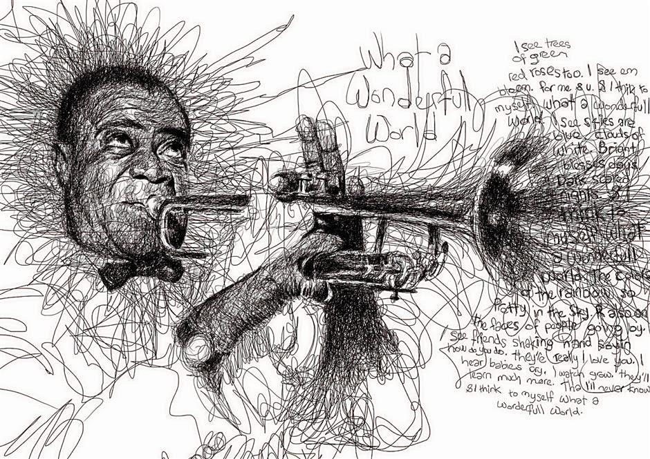 musician scribbles