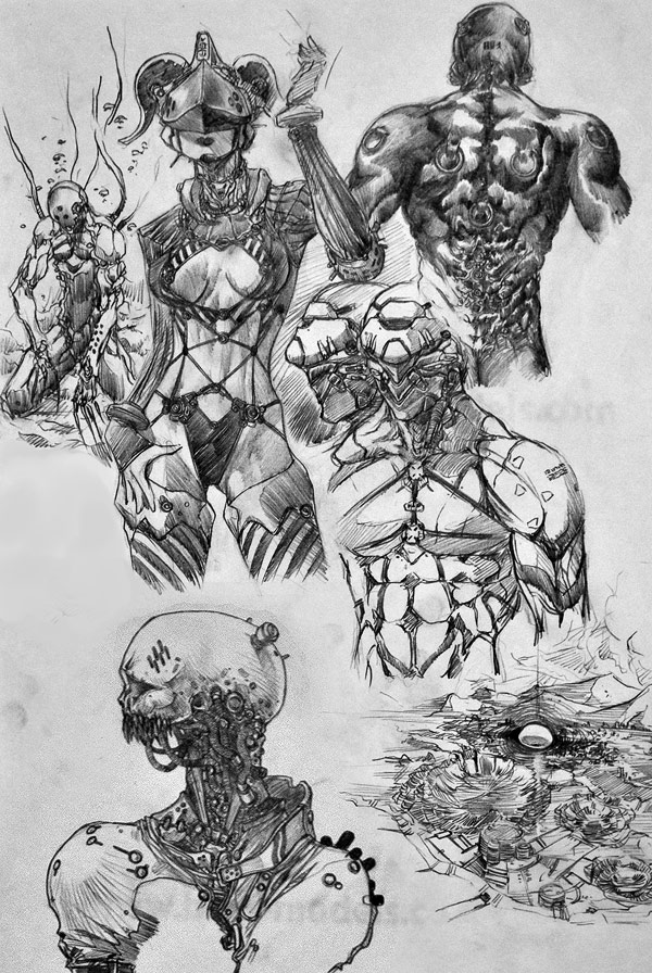 old drawings scribbles randis