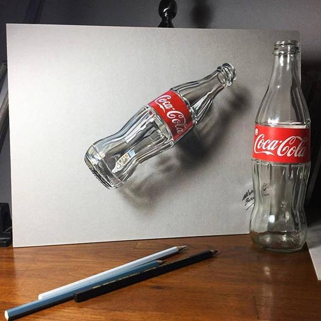 realistic 3d drawings by marcello barenghi