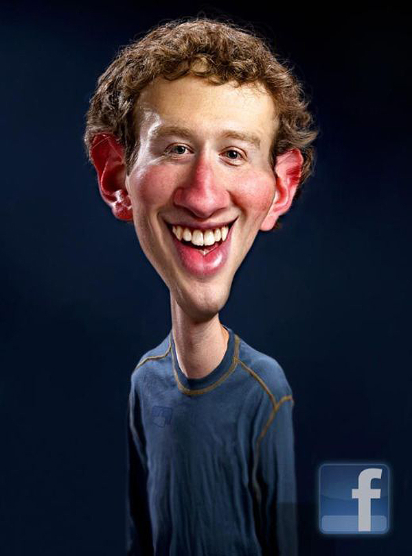 facebook caricatures rodney