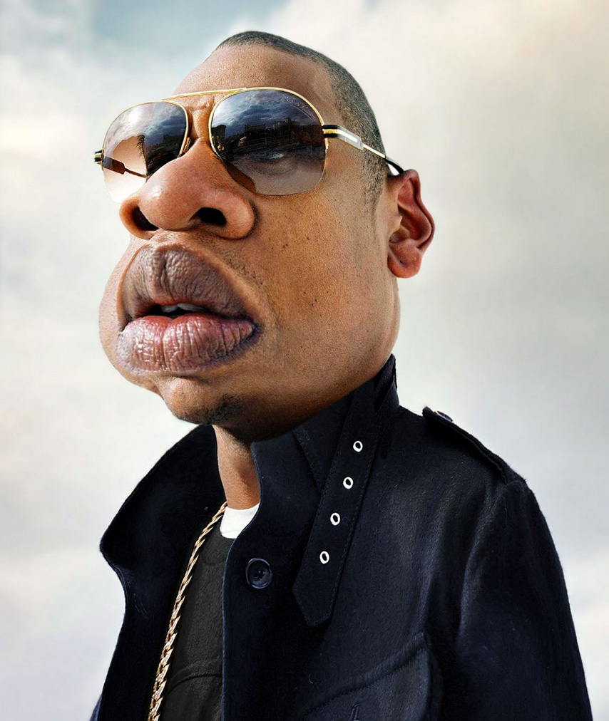 jay z celebrity caricatures