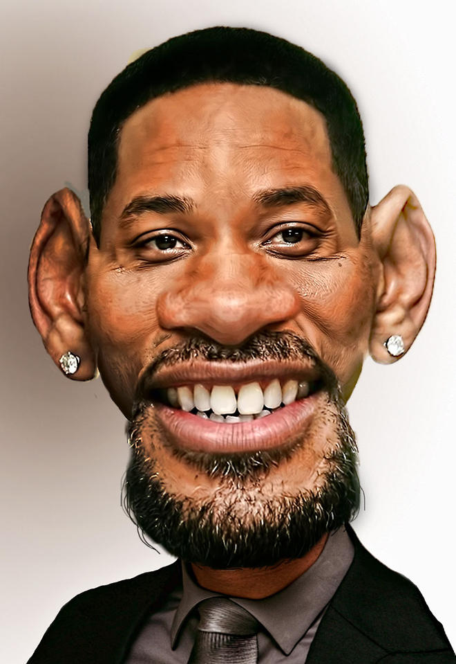willsmith caricatures