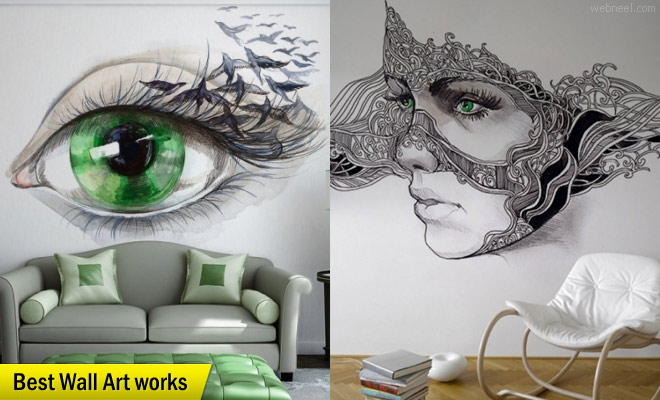 25 Beautiful Wall Art works from top artists around the world