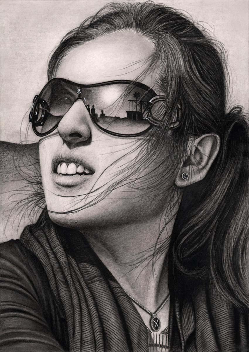 pencil drawing pentacular