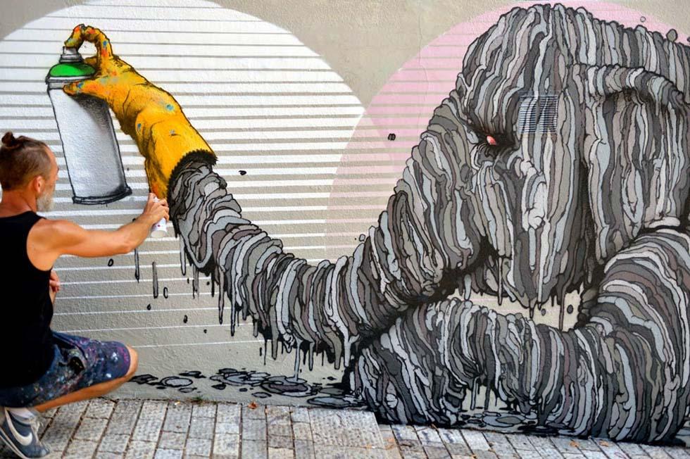 9 street art brusk