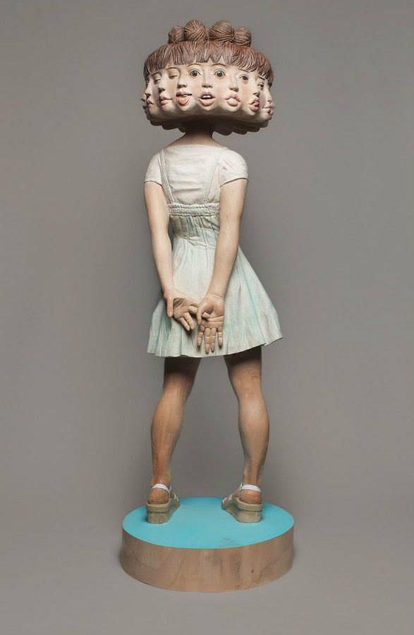 unusual sculpture yoshitoshi 1