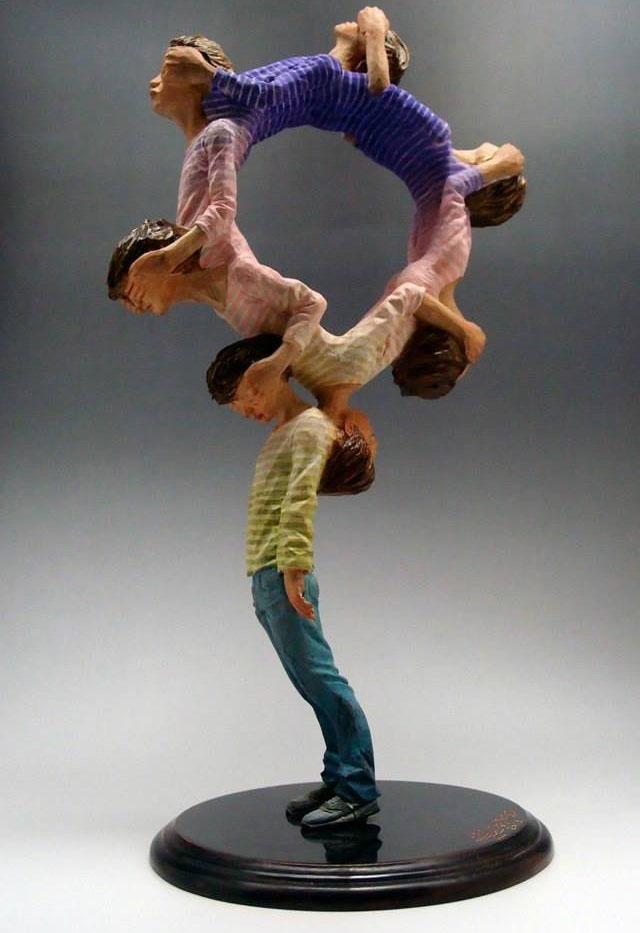 unusual sculpture yoshitoshi 3
