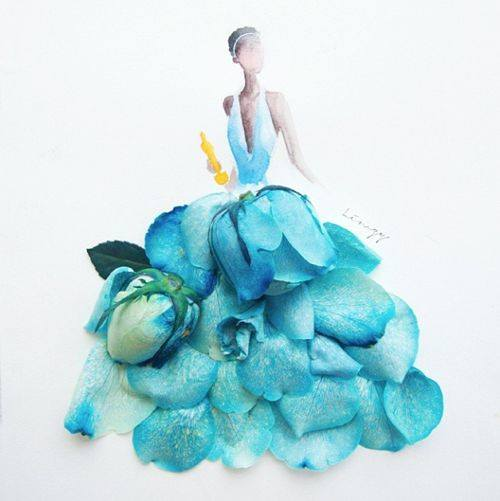 creative flower art idea by lim zhi wei