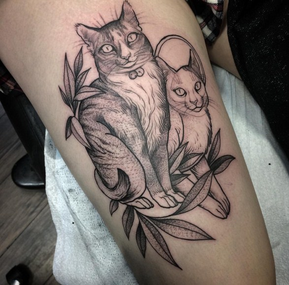 13 sketch tattoos by nomi chi