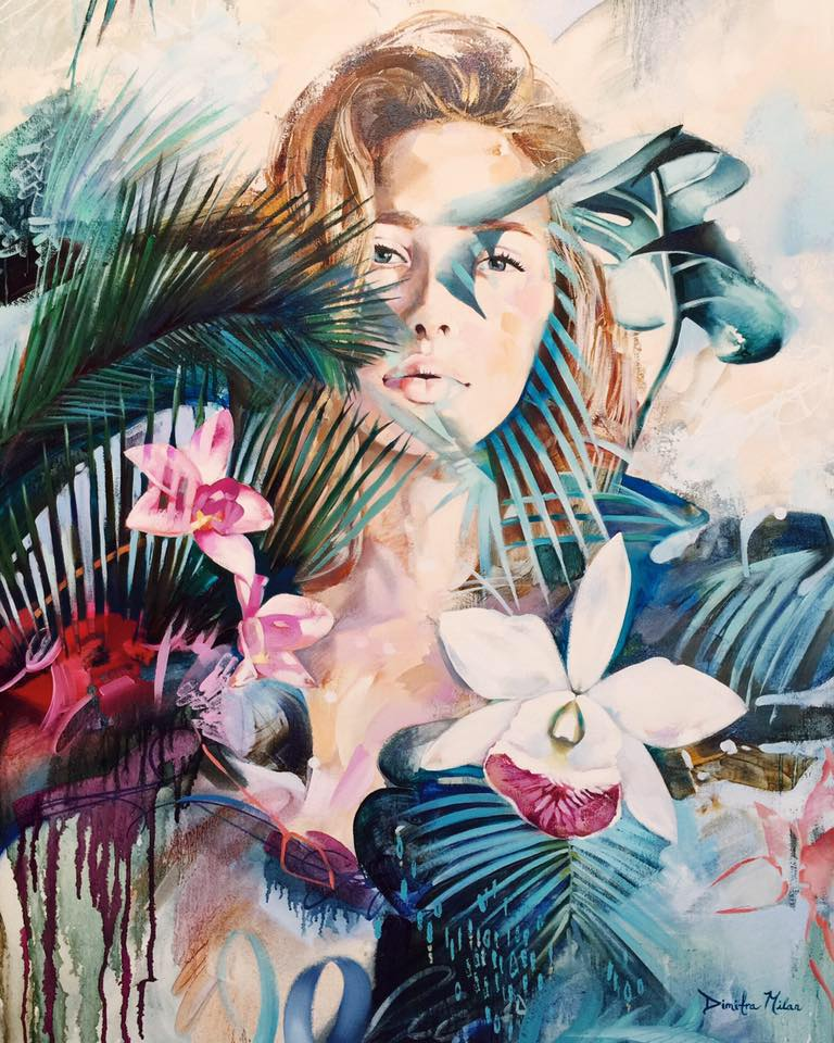 watercolor paintings by dimitra milan