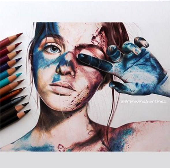 15 color pencil drawing by franwing martinez