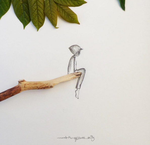 creative drawings by jesuso ortiz