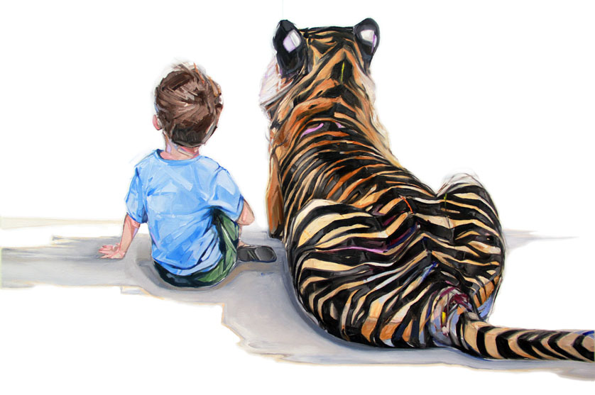 tiger paintings by mckenzie fisk