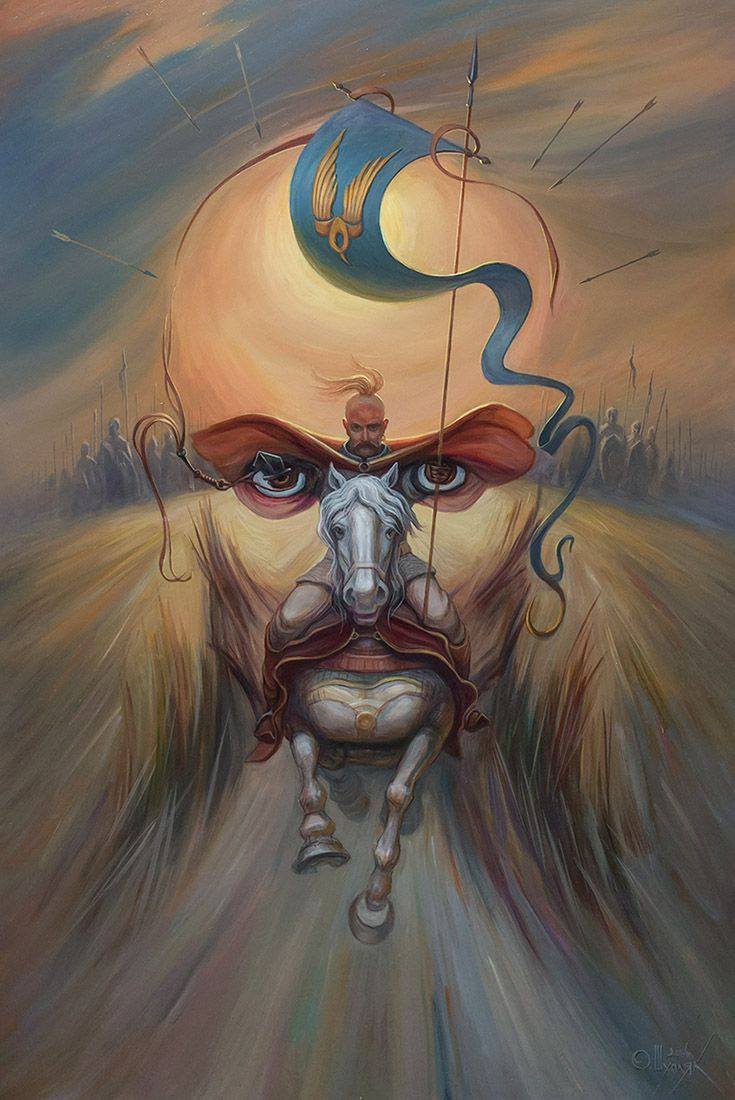 17 illusion oil painting by oleg shuplyak