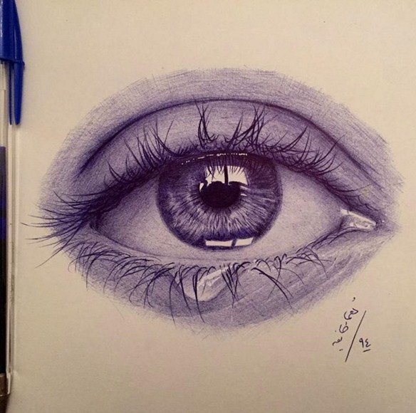 pen drawing by matin shafiee