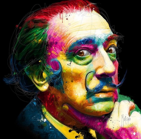 colorful paintings by patrice murciano