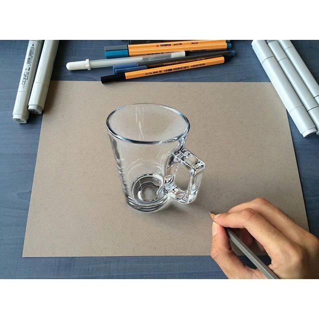 realistic pencil drawing by karakalem