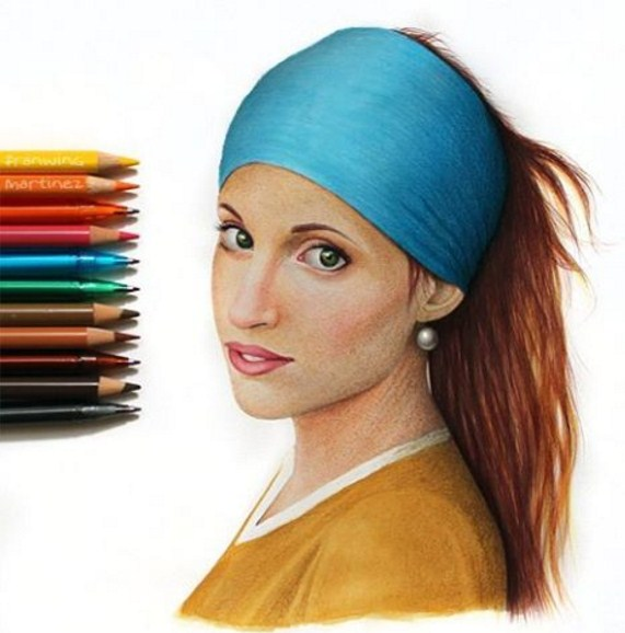 color pencil drawing by franwing martinez