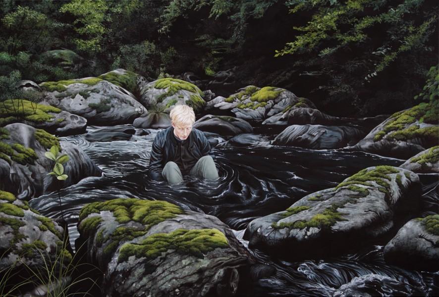 surreal paintings by moki