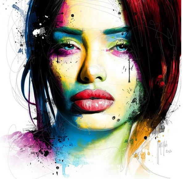20 colorful paintings