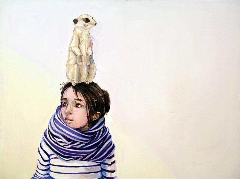 meerkat paintings by mckenzie fisk