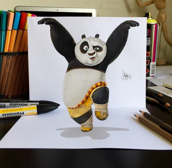 3 3d drawings by stephan moity
