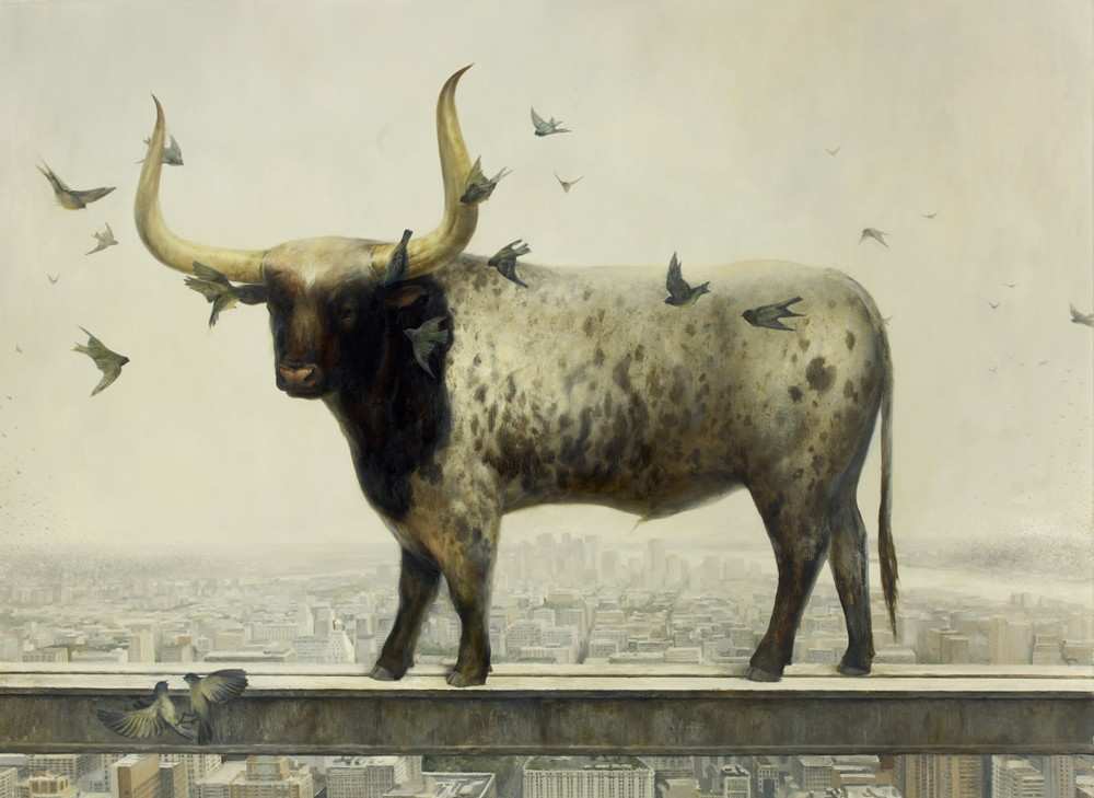 animal paintings by martin wittfoorh