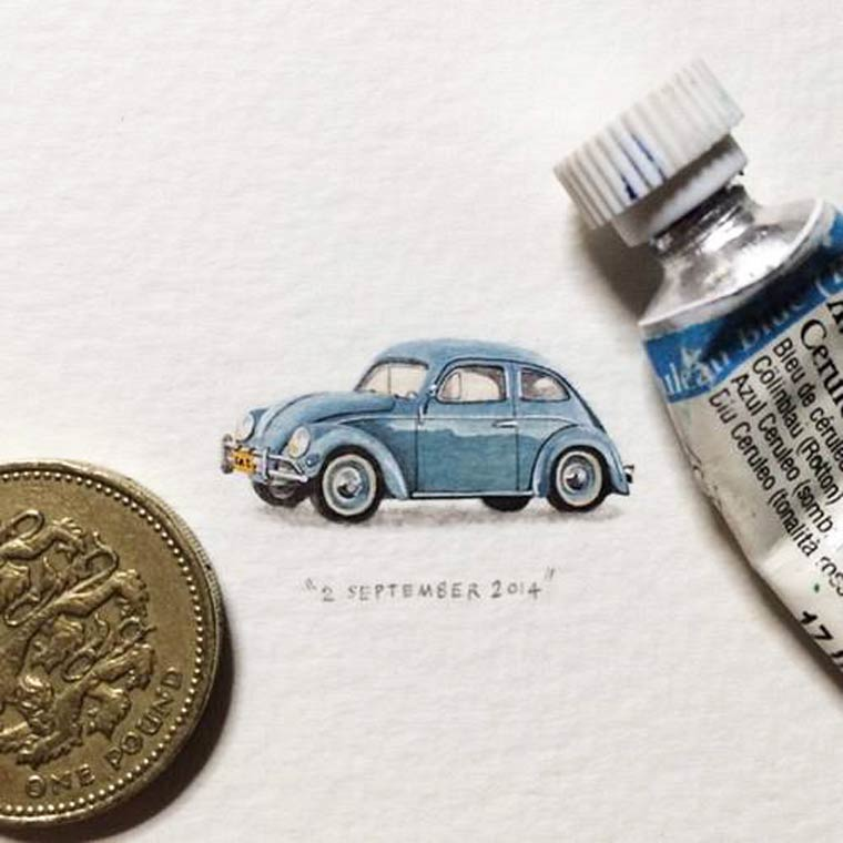 car creative paintings by lorraine loots