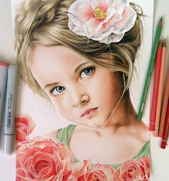 color pencil drawings by kelly lahar