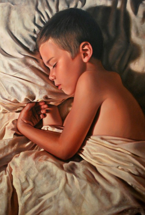 7 oil paintings by bronwyn hill