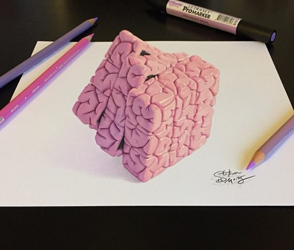 3d drawings by stephan moity