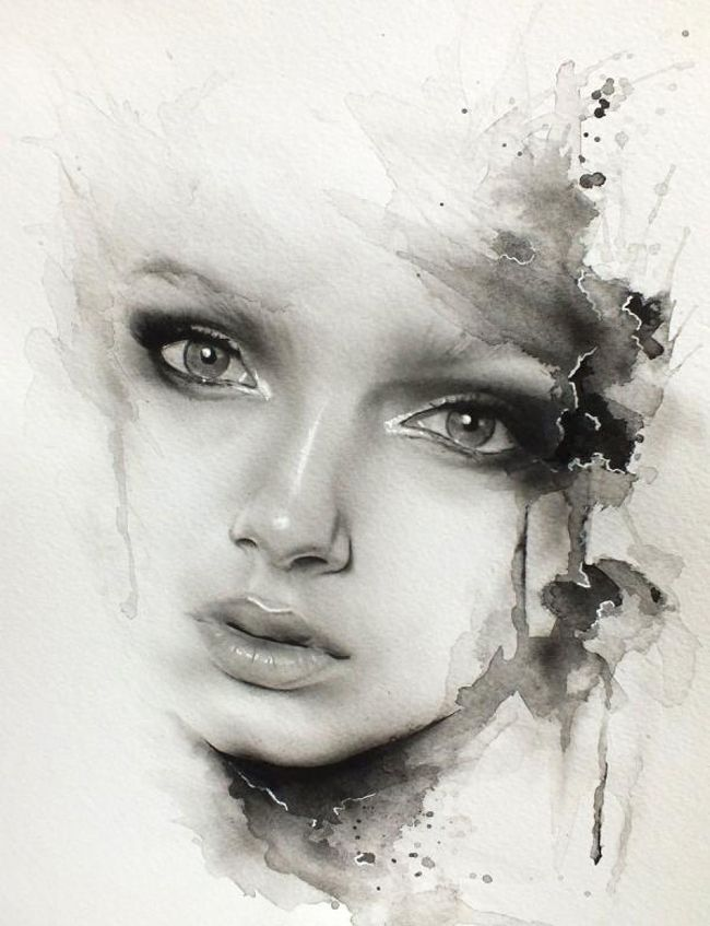 8 watercolor paintings