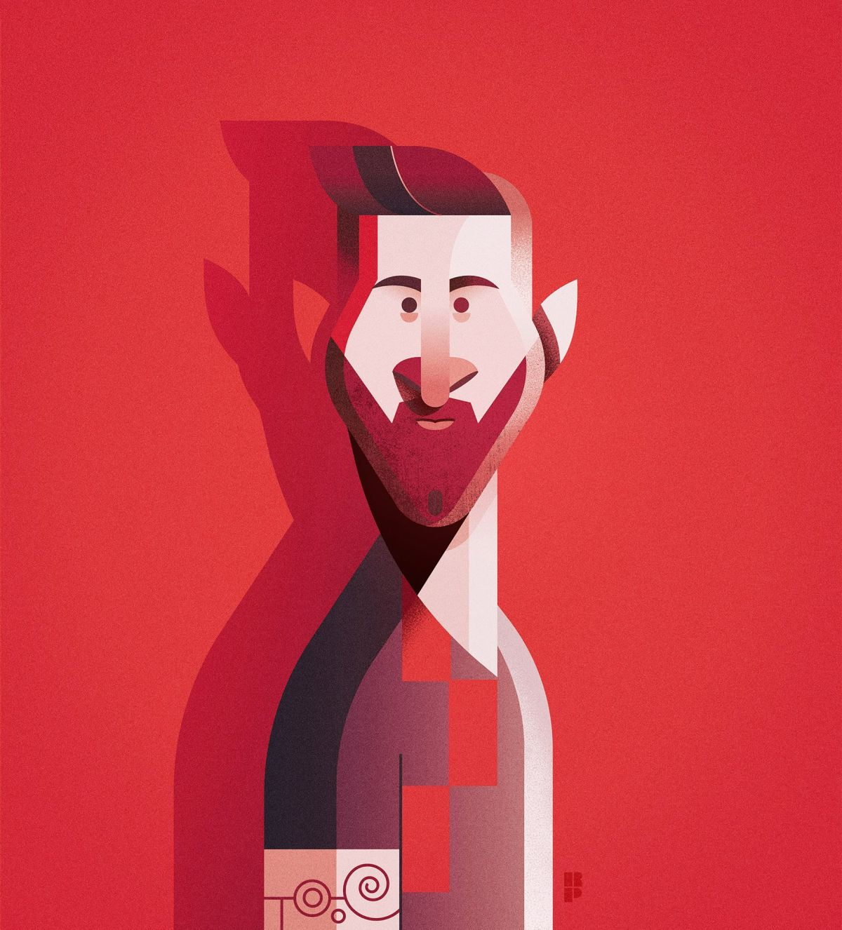 10 illustrated character portrait by ricardo polo