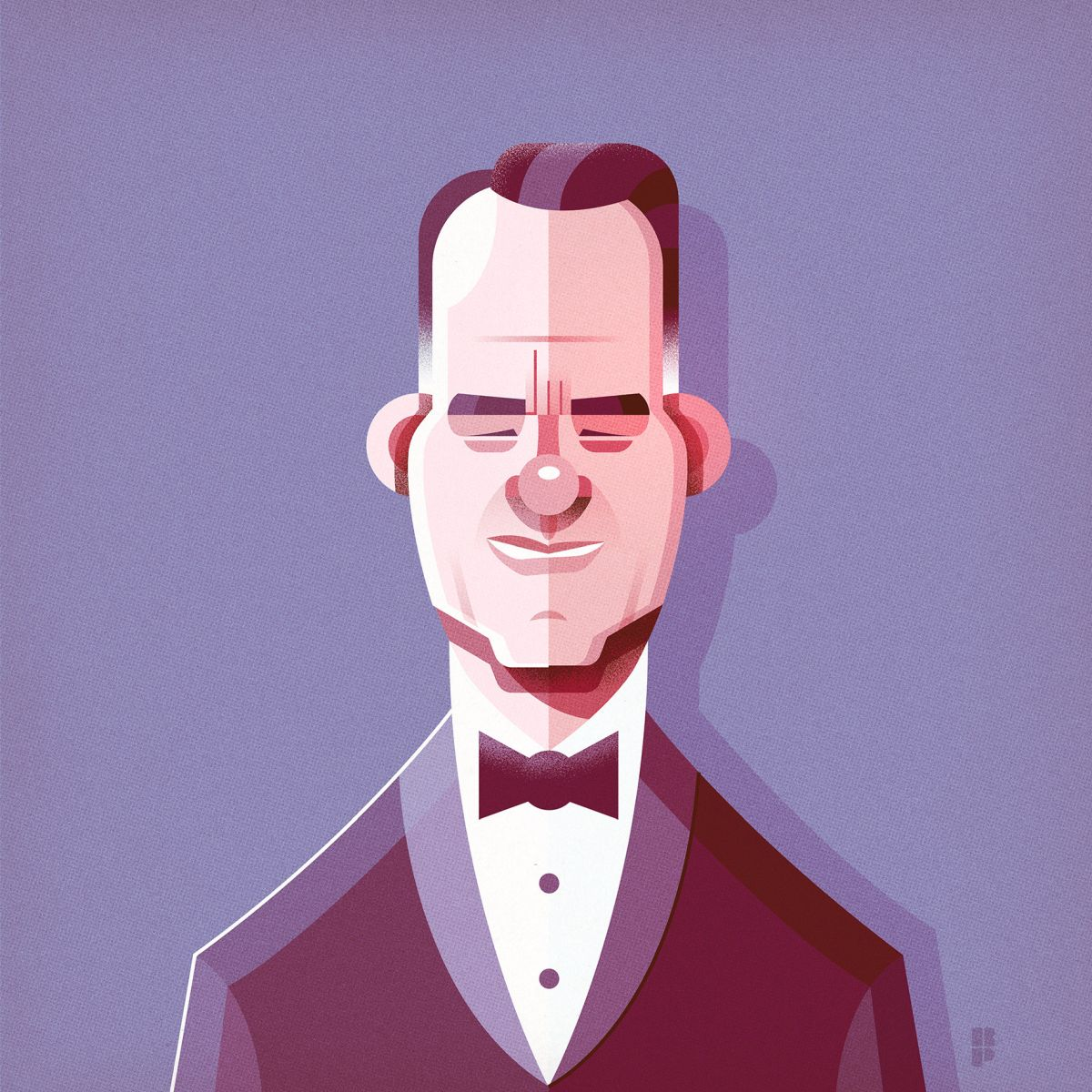 illustrated character portrait by ricardo polo