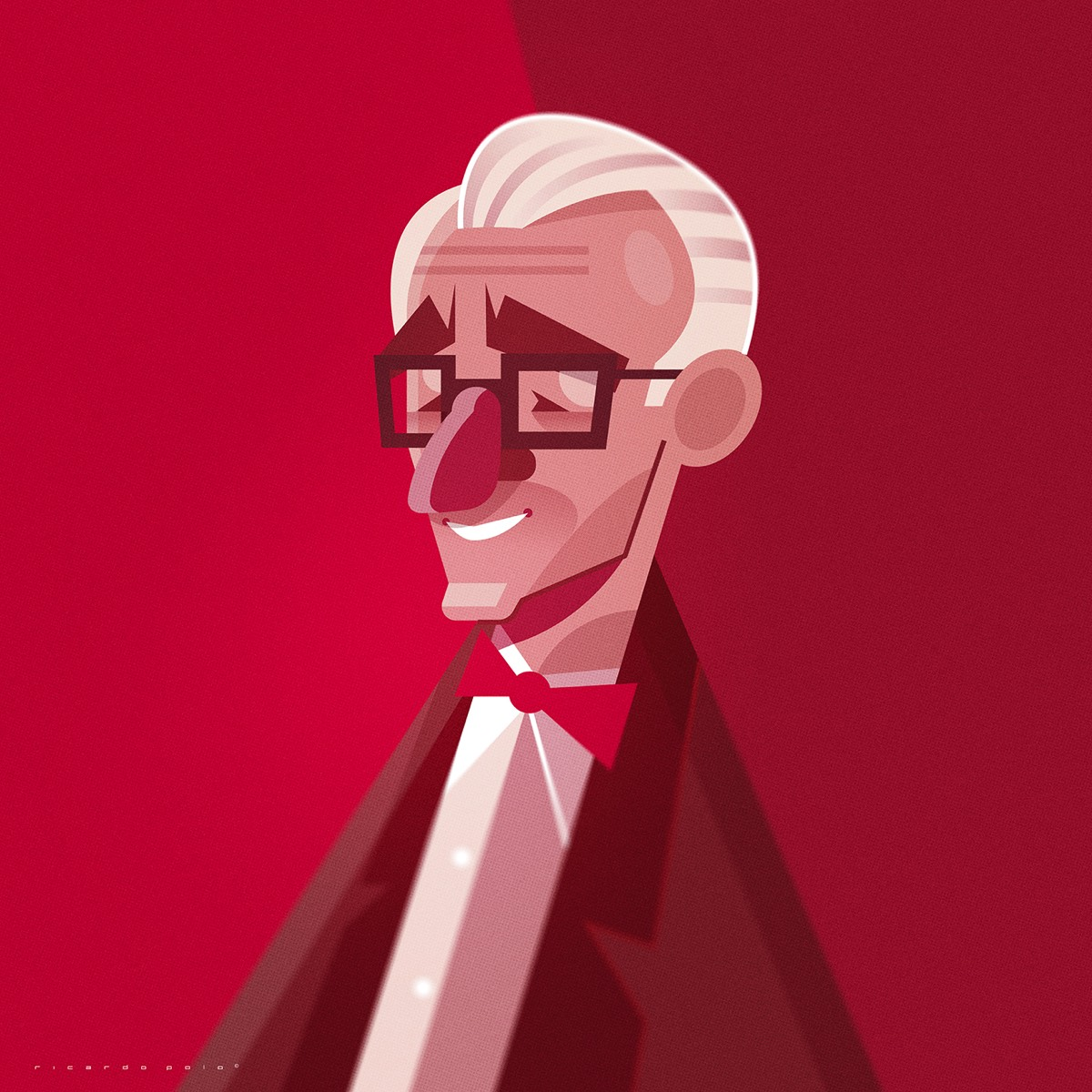 14 illustrated character portrait by ricardo polo