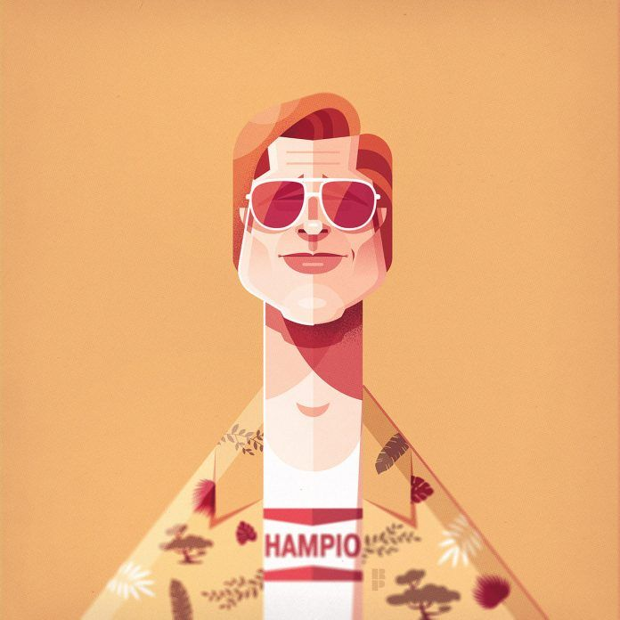 6 illustrated character portrait by ricardo polo