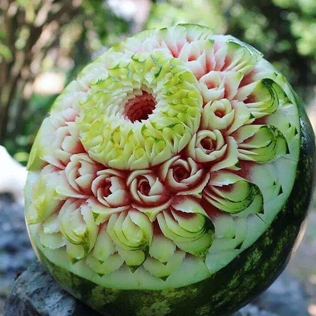 15 beautiful fruit carvings by daniele barresi