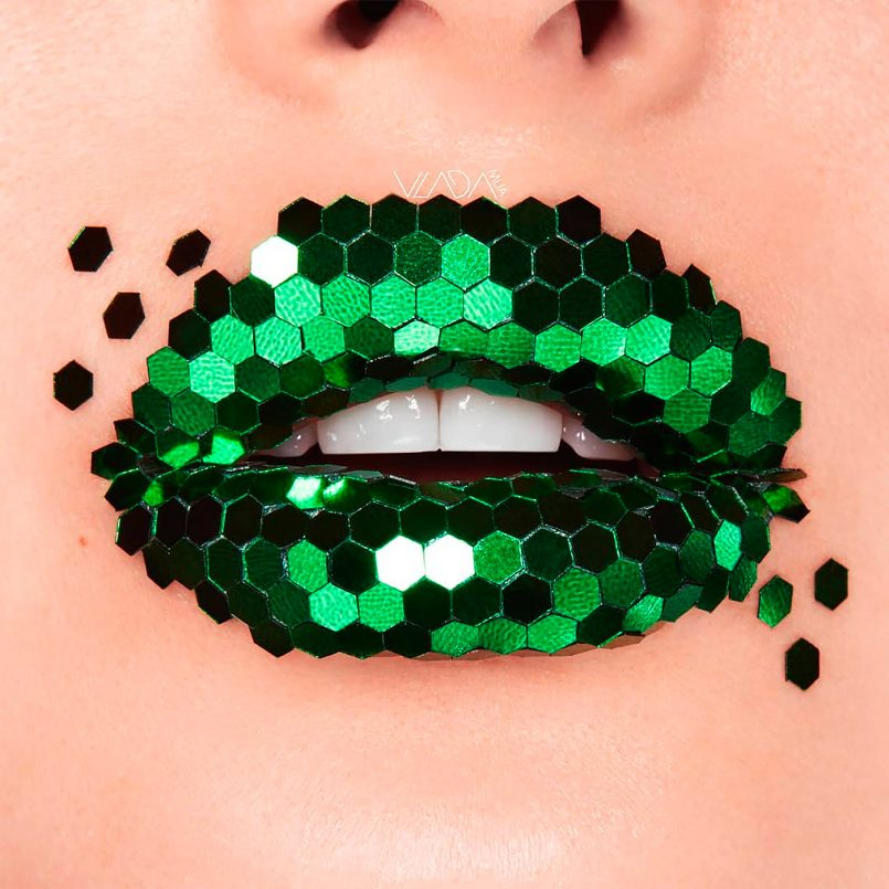 gorgeous lip art by vlada haggerty