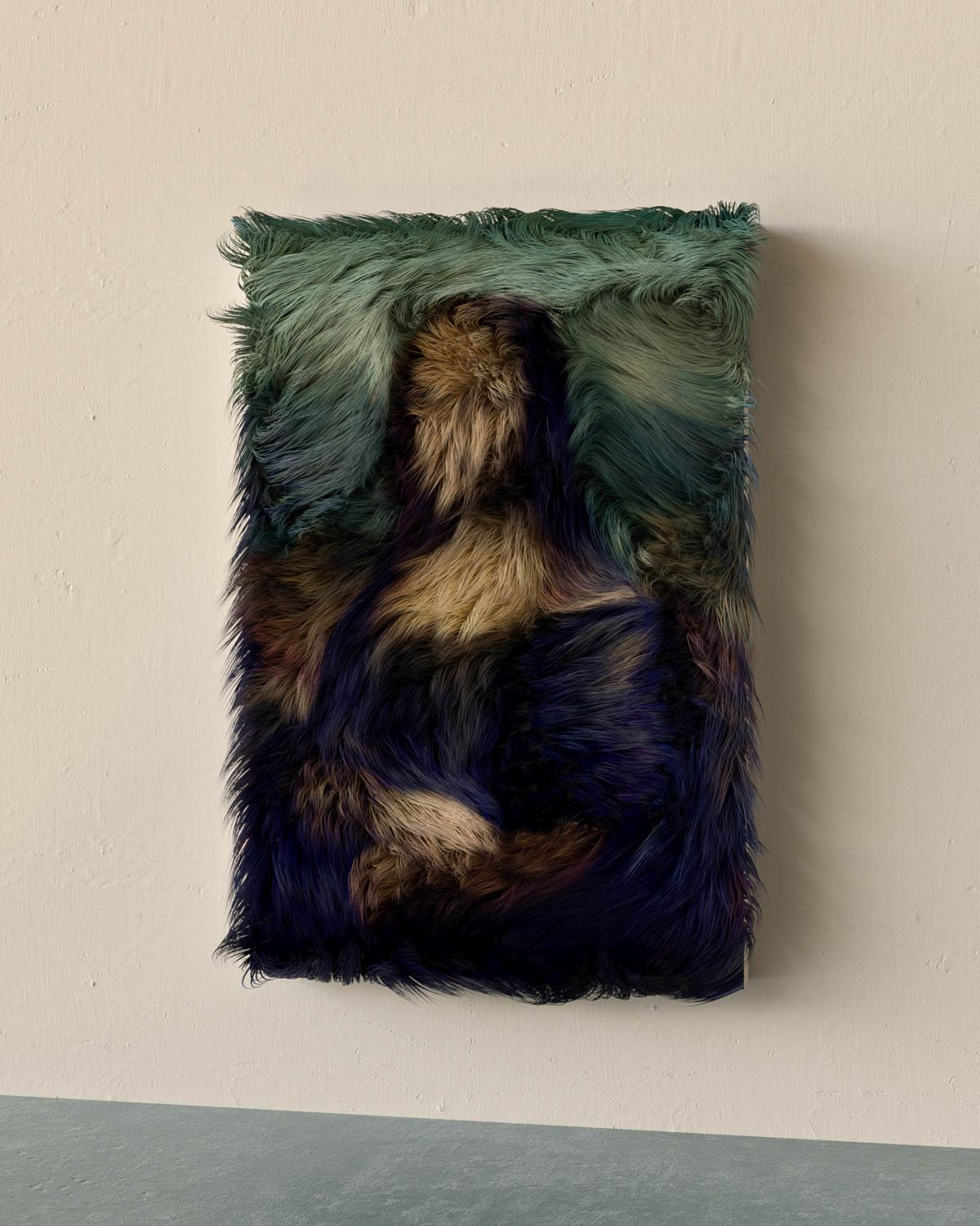 furry artwork mona lisa by murat yildirim