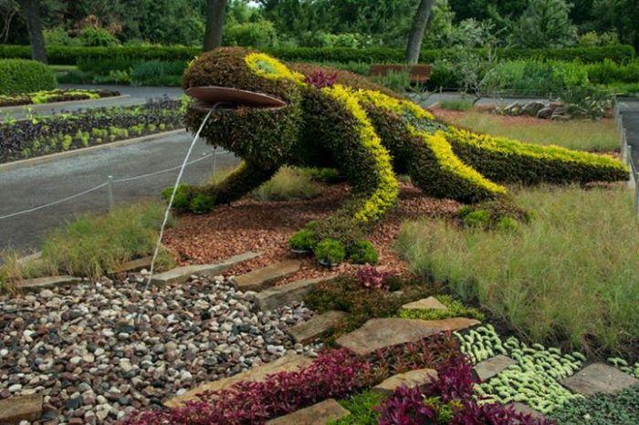 3 garden sculpture