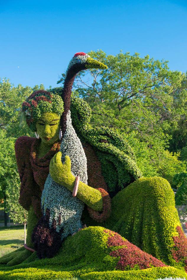 4 garden sculpture