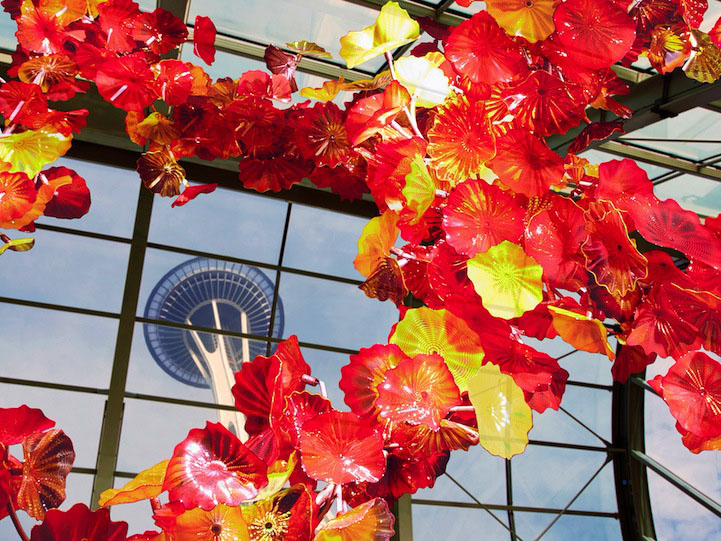 garden glass architecture installation chihuly