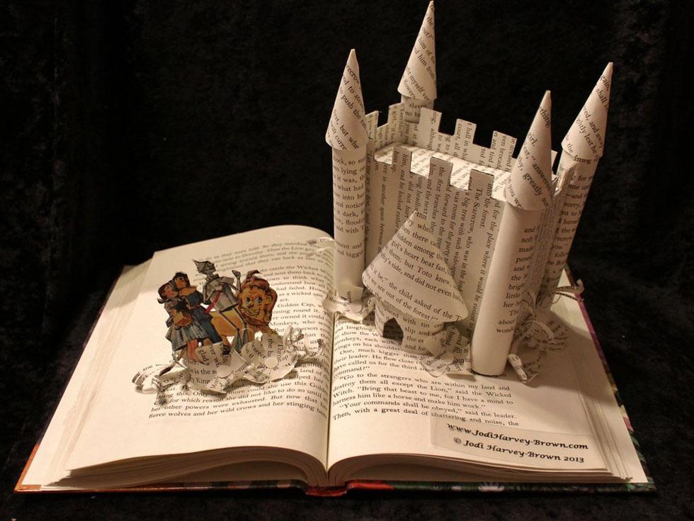 home book art